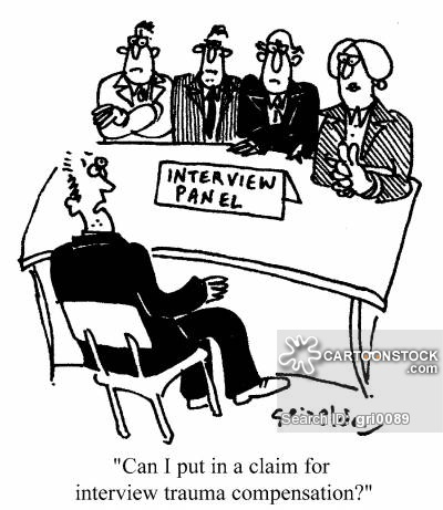 """Can I put in a claim for interview trauma compensation?"""